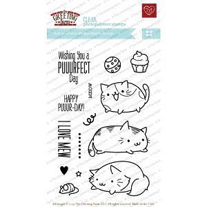 Purfect Cats Stamp Set
