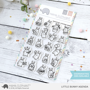 Little Bunny Agenda Stamp Set