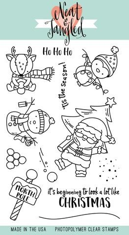 Santa's Wonderland Stamp Set