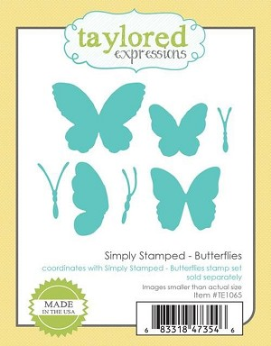 Simply Stamped - Butterflies Dies