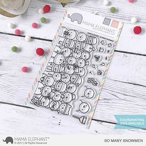 So Many Snowmen Stamp Set