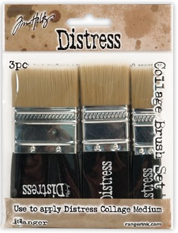 Distress Collage Brushes