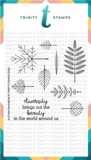 Autumn Rainbow Stamp Set