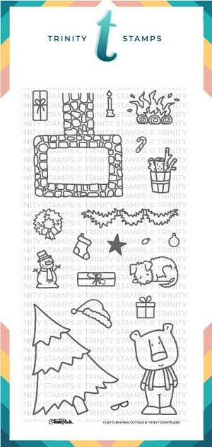 Cozy Christmas Cottage Stamp Set