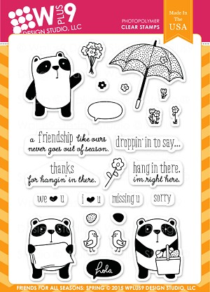 Friends for All Seasons: Spring Stamp Set